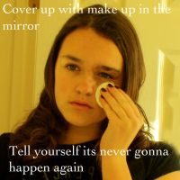 Makeup in the mirror by stixandstonz661