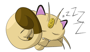 Meowth drawing by Acoyph