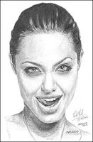 Angelina Jolie - graphite 1 by Art15