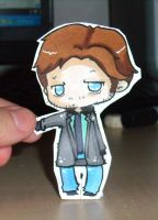 Alan Wake paper child by Sunchildkate