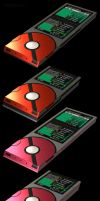 Unova Pokedex 3D, 5th Generation by robbienordgren