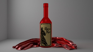 Model of a Bottle by Heyro0