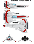 Colonial Viper mark II by bagera3005