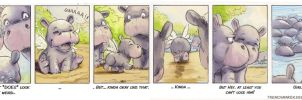 Hippo Comic I by trenchmaker