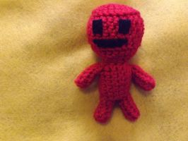 2-faced vvvvvv crew member amigurumi (other side) by lovechairmanmeow