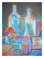 Pastel Still Life by emixoO