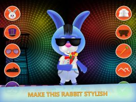 Bunny Dress Up Cute Game for Android and iOS by Peaksel