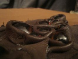 Leather Box with eyes by MonstrositiesNZ