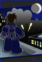 Mega Man Redux Promo Pic by JusteDesserts