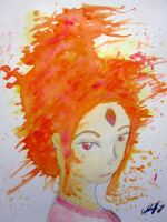 Flame Princess!!! Adventure time !! by Squall1015