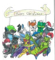 Merry Christmas by CanineCriminal