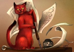 Archie The RedCat by Archie-The-RedCat
