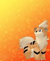 Growlithe by kariuchiha