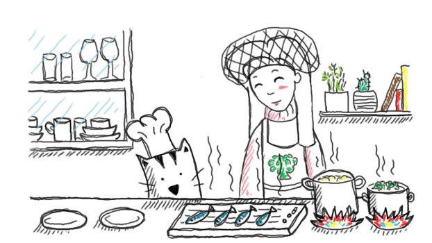 Cooking by Luzaaa