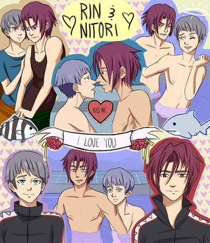 Rintori Collage by ElectraPen