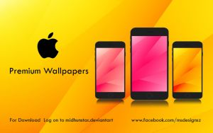 Iphone Premium Wallpapers by midhunstar
