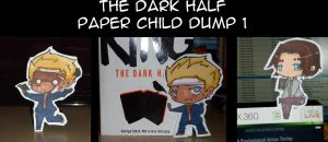 The Dark Half Paperchildren 1 by Sunchildkate