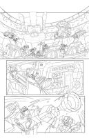 TF Animated Botcon page 10 inks by MarceloMatere