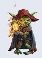 Goblin Pyromaniac by joeshawcross