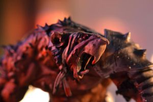 Rat Ogre Close-up by MikeErty