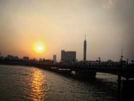 Cairo Sunset by Del-Korey