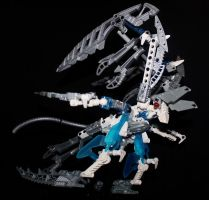 Bionicle MOC: Ice Bat by Rahiden