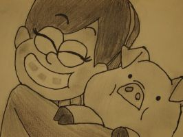 Mabel and Waddles by TSSOCM