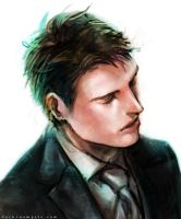 Bruce Wayne by Haining-art