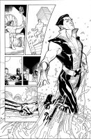 Namor Origin Ink by TerryDodson