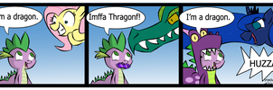 Spike's a dragon by TheWormOuroboros