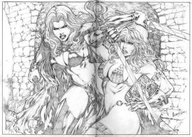 Art by Leandro by Ed-Benes-Studio
