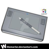 Wacom Intuos3 Tablet by WillZMarler