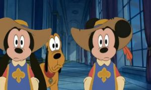 Mickey and Oswald Musketeers by MyFanFictionPicture