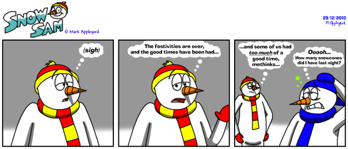 Snow Sam Comic 95 by BluebottleFlyer