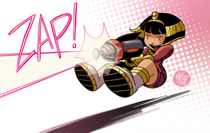 Cleo Zap by mikemaihack