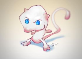 The Original Mew by lord-phillock