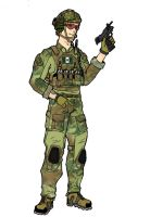RHODESIAN LIGHT INFANTRY (RLI) (COMMANDO) by pimphand