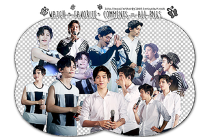 PACK PNG #9 ( Baekhyun EXO) by JenniferMorgy1998