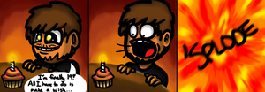 HAPPY BIRTHDAY JACK MACE by ecstaticOblivion