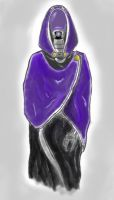 Tali' Zorah Cloak by Night-Spectre81