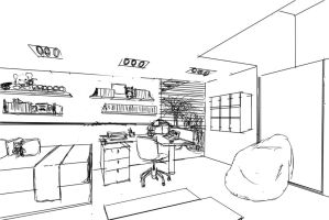 Another Room sketch by gaixas1