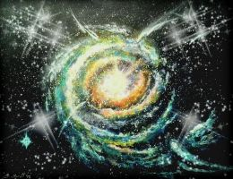 Whirlpool Galaxy II by Defiant2Death