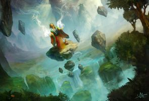 Natural magic by xiaoxinart