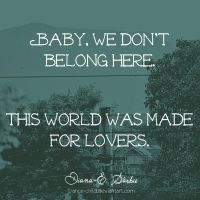 Baby, let's go by DianaES