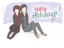 Happy Holidays by denying