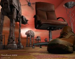 Rebel Chairs Last Stand by techburst