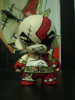 Munny - Kratos _ God Of War by LeftHandedMutant