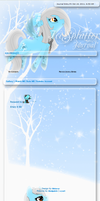 IceSplatter Journal skin by DBluver