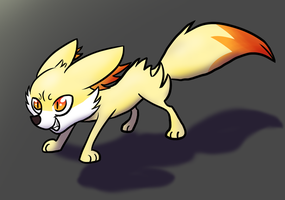 Fennekin by cat4lyst