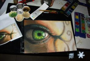 green eye by Mundokk